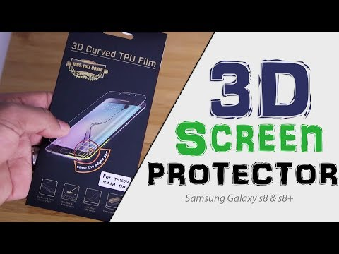 Anneks Ghost Shield 3D Film Screen Protector Review | Samsung Galaxy s8