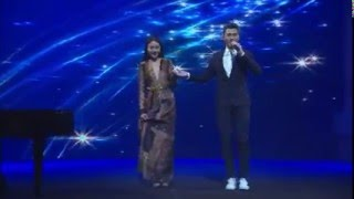 StarHub TVB Awards : BottomSlim Ambassador Cathryn Lee Piano Performance ft Vincent Wong