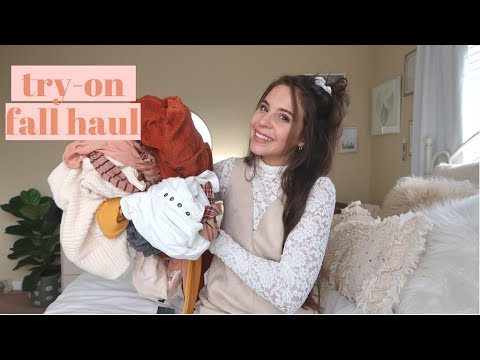 FOREVER 21 HAUL || AFFORDABLE FALL CLOTHING