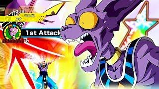 BEERUS BECOMES ABSOLUTE TOP TIER! 100% Rainbow EZA TEQ Beerus | Dragon Ball Z Dokkan Battle
