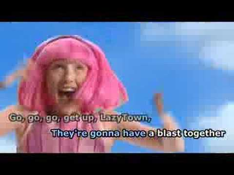 Welcome to LazyTown (Karaoke w/ Subs)