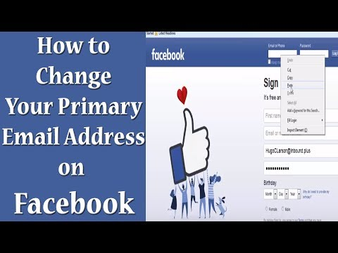 How to change fb email id in mobile