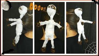 The Mummy / Super Creative Halloween Hairstyle / Bonita Hair Do
