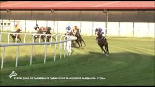 Vidéo de la course PMU PREMIO REAL SDAD.DE CARRERAS DE CABALLOS DE SANLUCAR DE BARRAMEDA
