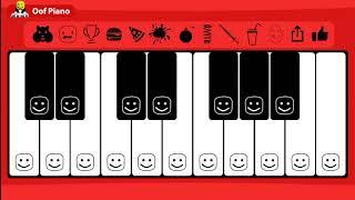 ROBLOX Oof Piano - Happy Birthday