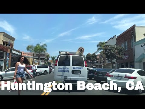 🔴  Huntington Beach Realtor Driving Tour 4K