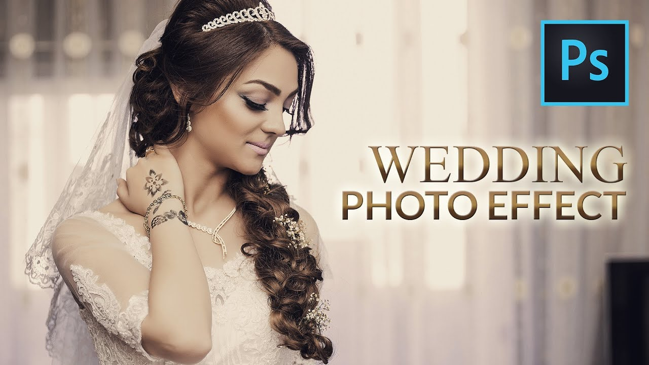 Photoshop Tutorial Wedding Photo Effects Free Photoshop Action File Soft Vintage Effect