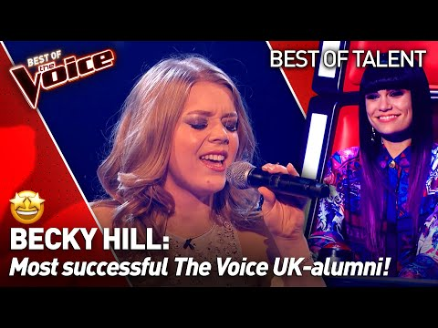 Singer-Songwriter Becky Hill on The Voice: from the Blind Au