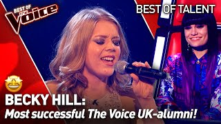 Singer-Songwriter Becky Hill on The Voice: from the Blind Auditions to the Semi-Finals!