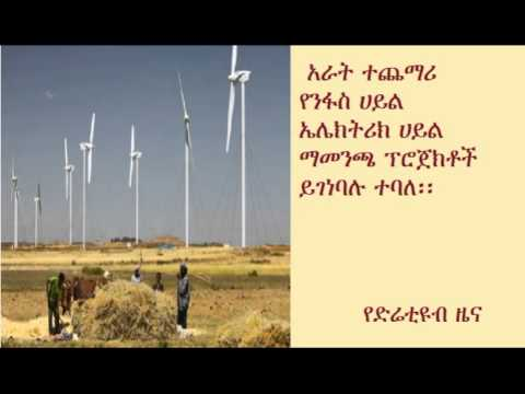 DireTube News - Ethiopia plans four new wind farm projects