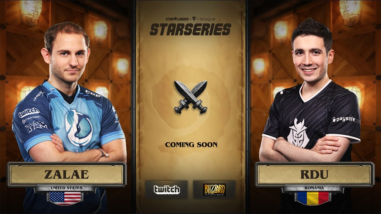 [RU] Zalae vs RDU | SL i-League Hearthstone StarSeries Season 3 (11.06.2017)
