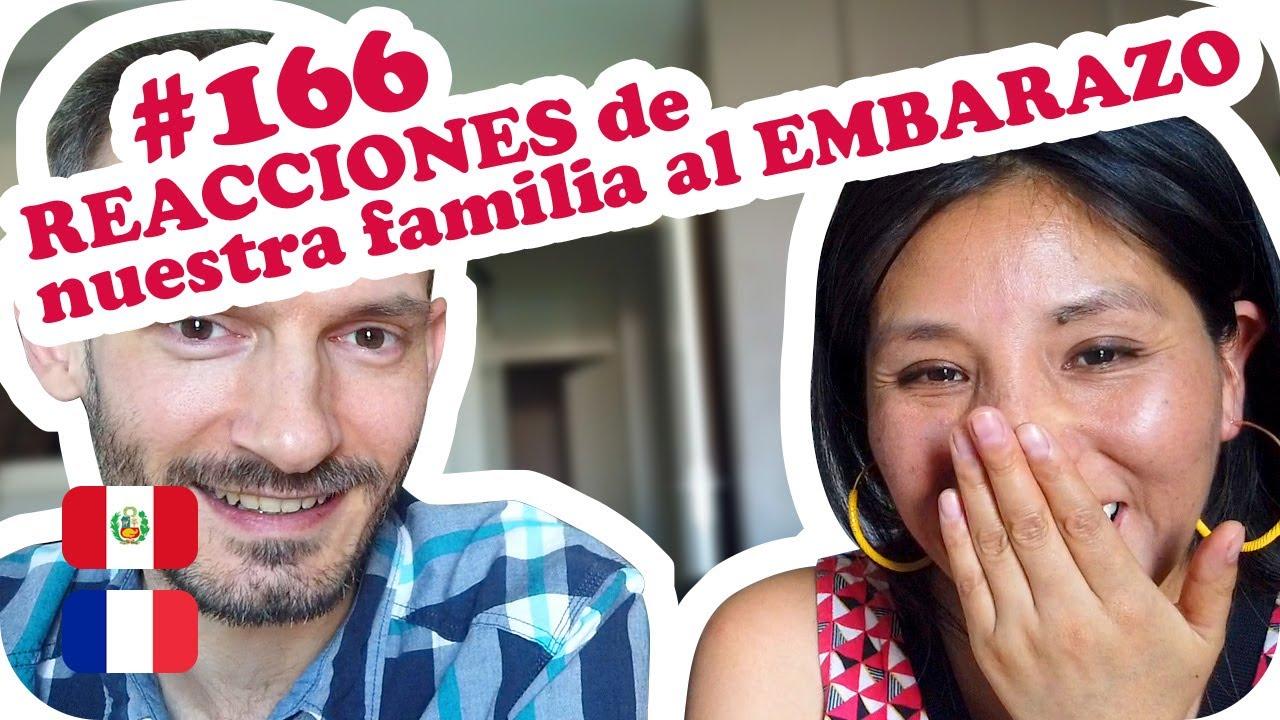 ❤️ REACCIONES de nuestra familia al EMBARAZO ❤️ ~ UNA PERUANA EN FRANCIA