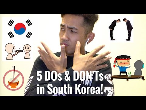 5 DO's And DON'Ts In South Korea!