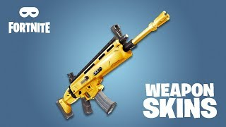WEAPON SKINS IN FORTNITE? BATTLE ROYALE