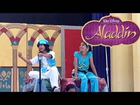 Disneys Aladdin Jr, My 3rd Grade Musical!