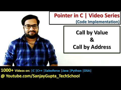 How to implement Call by value and call by address in c programming | by Sanjay Gupta