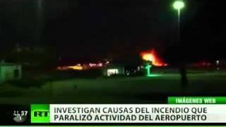 La explosión de un depósito de combustible paraliza el aeropuerto de Miami