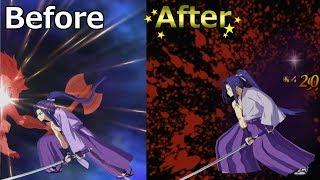【FGO】佐々木小次郎 新旧モーション比較【FateGO】Sasaki Kojirō  Before/after【Fate/Grand Order】