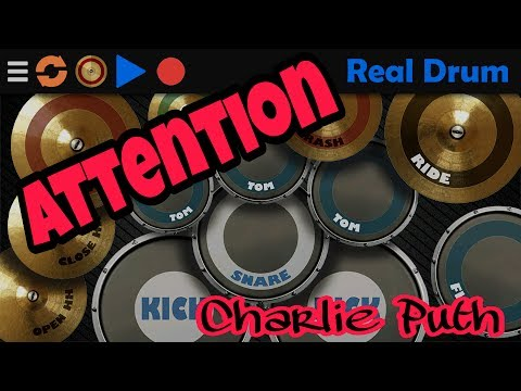 Attention - Charlie Puth. Real Drum Cover.