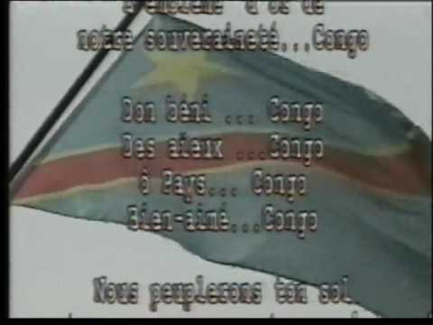 hymne national debout congolais