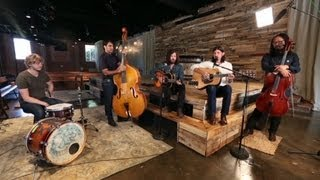 "The Avett Brothers perform ""The Once and Future Carpenter"""
