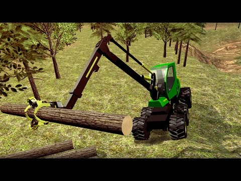 Logging Harvester Truck (by Game Mavericks) Android Gameplay [HD]