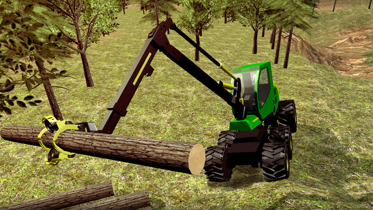 Logging Harvester Truck By Game Mavericks Android