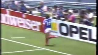 World Cup 1986 Quarterfinals: France 1 (4) - (3) Brasil