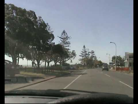 A drive by the waterfront in Brisbane, Australia