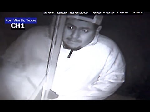 Woman Awakens To Home Intruder Strangling Her [CAUGHT ON TAPE]