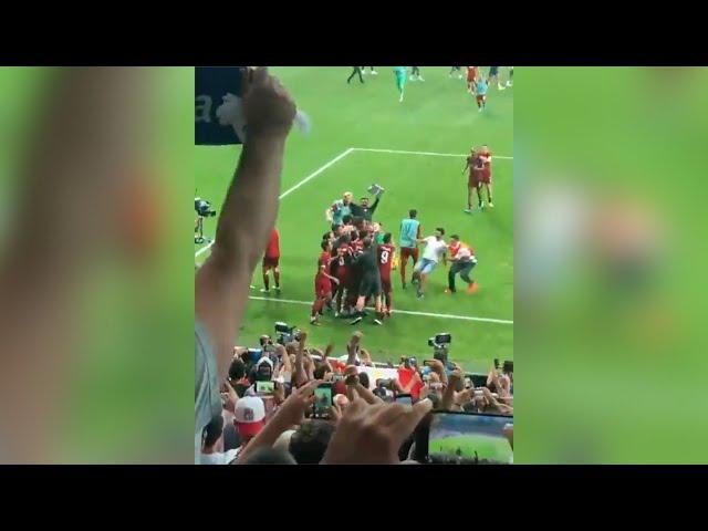 Her skader tilskueren Liverpools keeper