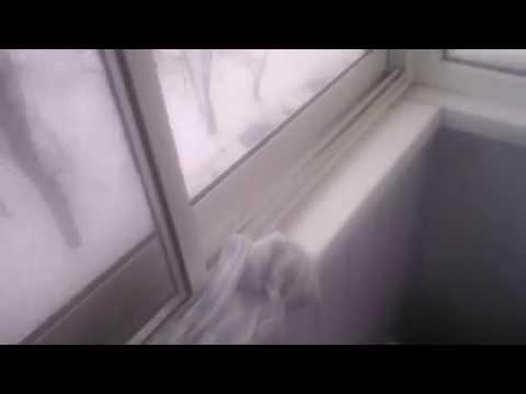 Балкон алюминиевый под ключ в эксплуатации