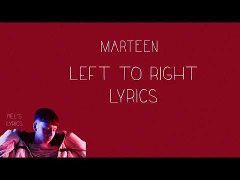 Marteen - Left to Right [Lyrics]