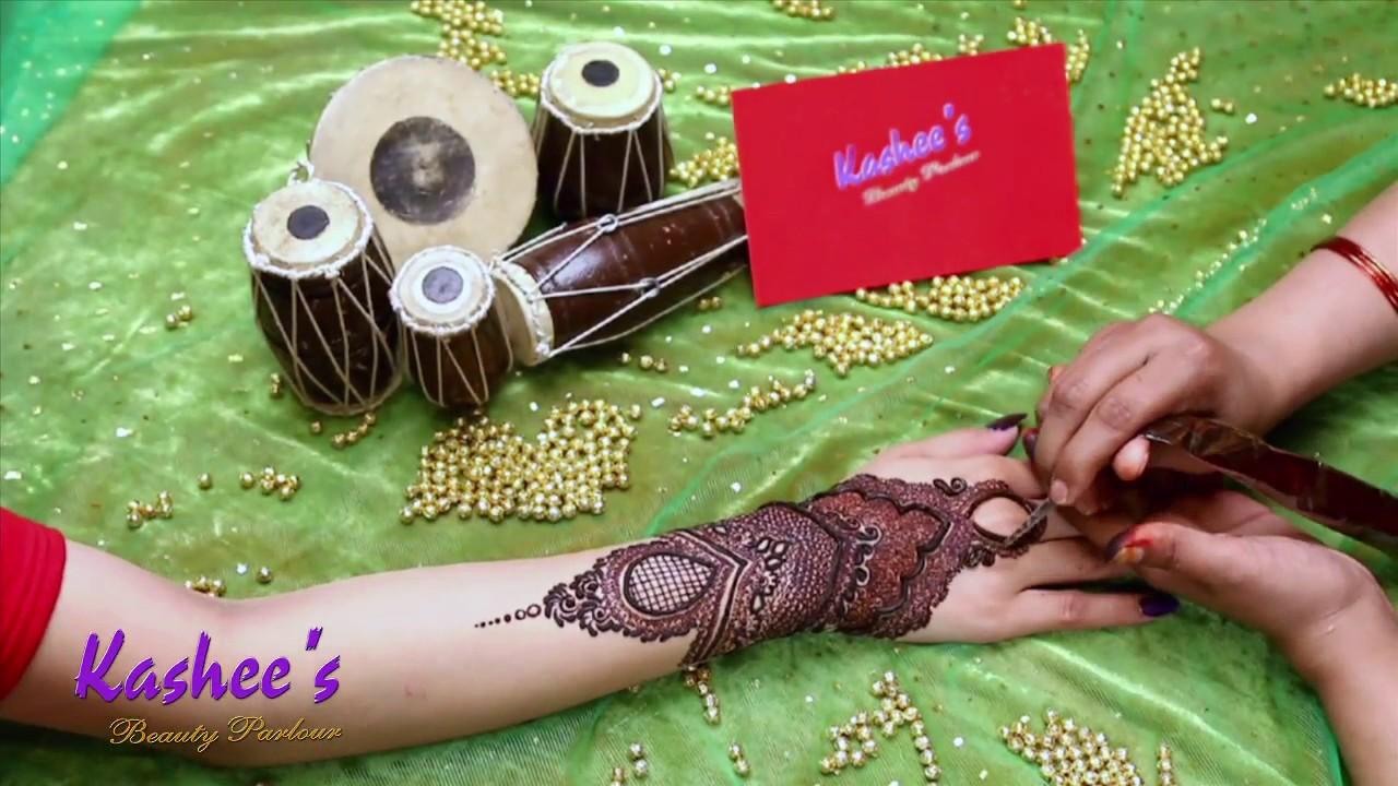 Bridal Mehndi Kashee S : Kashee`s signature mehndi youtube