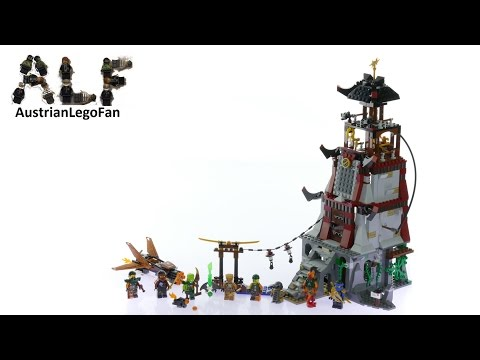 Lego Ninjago 70594 The Lighthouse Siege - Lego Speed Build Review