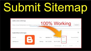 How to Submit Sitemap in Google Search Console | Generate and Submit Sitemap for Blogger