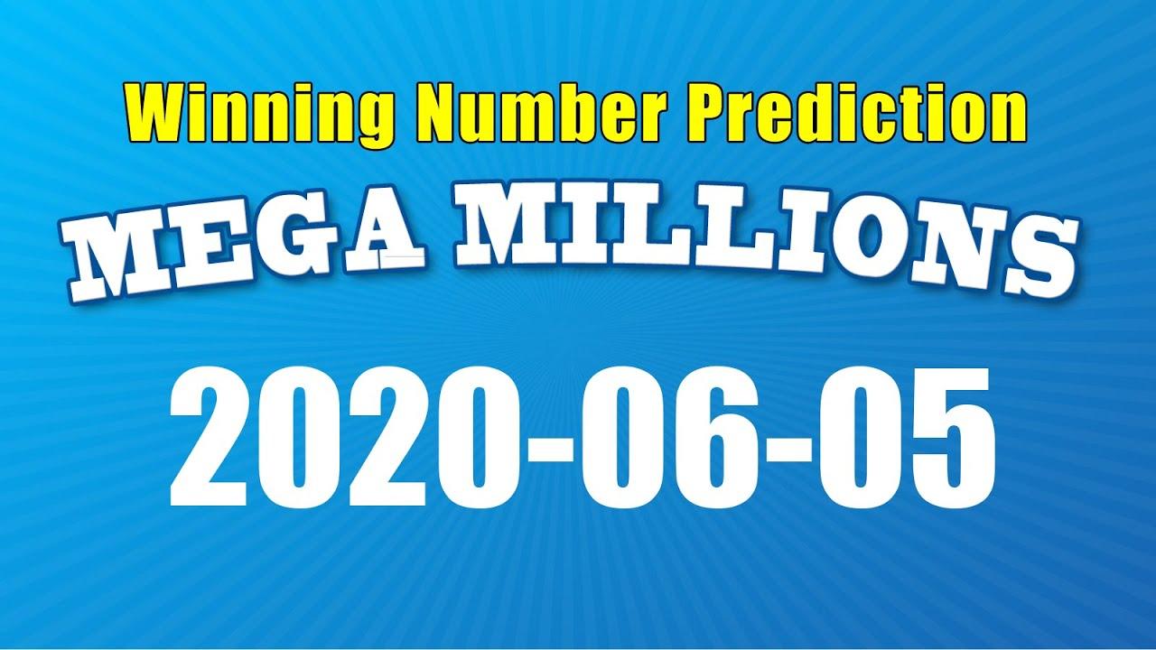 U S Mega Millions Winning Numbers Prediction For 2020 06 05 Youtube