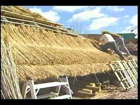 thatch roof technique - Thatched Rood