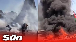 Israel: Deadly violence engulfs the West Bank leaving ten dead after Gaza bomb blitz