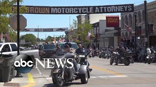 Bikers flock to enormous rally in South Dakota amid pandemic | WNT