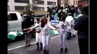 african events live broadcast nigeria independence parade 2014 in new york clip 2