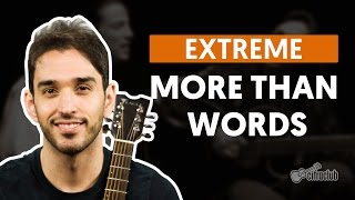 More Than Words - Extreme (aula de violão simplificada)