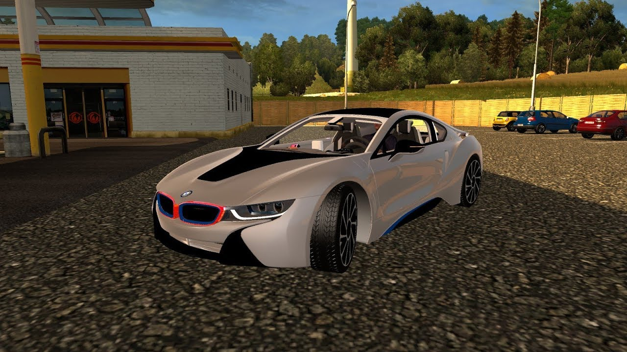 Ets 2 Mod Bmw I8 Euro Truck Simulator 2 1 30 Youtube