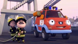 Олли Веселый грузовичок - Мультфильм про машинки - Серия 30 - Олли - пожарный (Full HD)