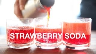 Real Strawberry Soda Recipe