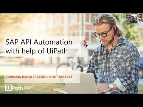 SAP API Automation With The Help Of UiPath