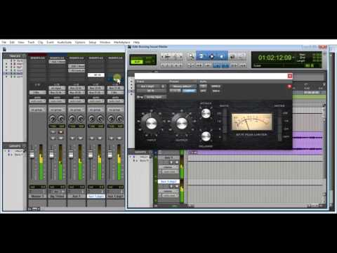 Basic Mastering In Pro Tools 10 With Stock Plugins by Patrick White