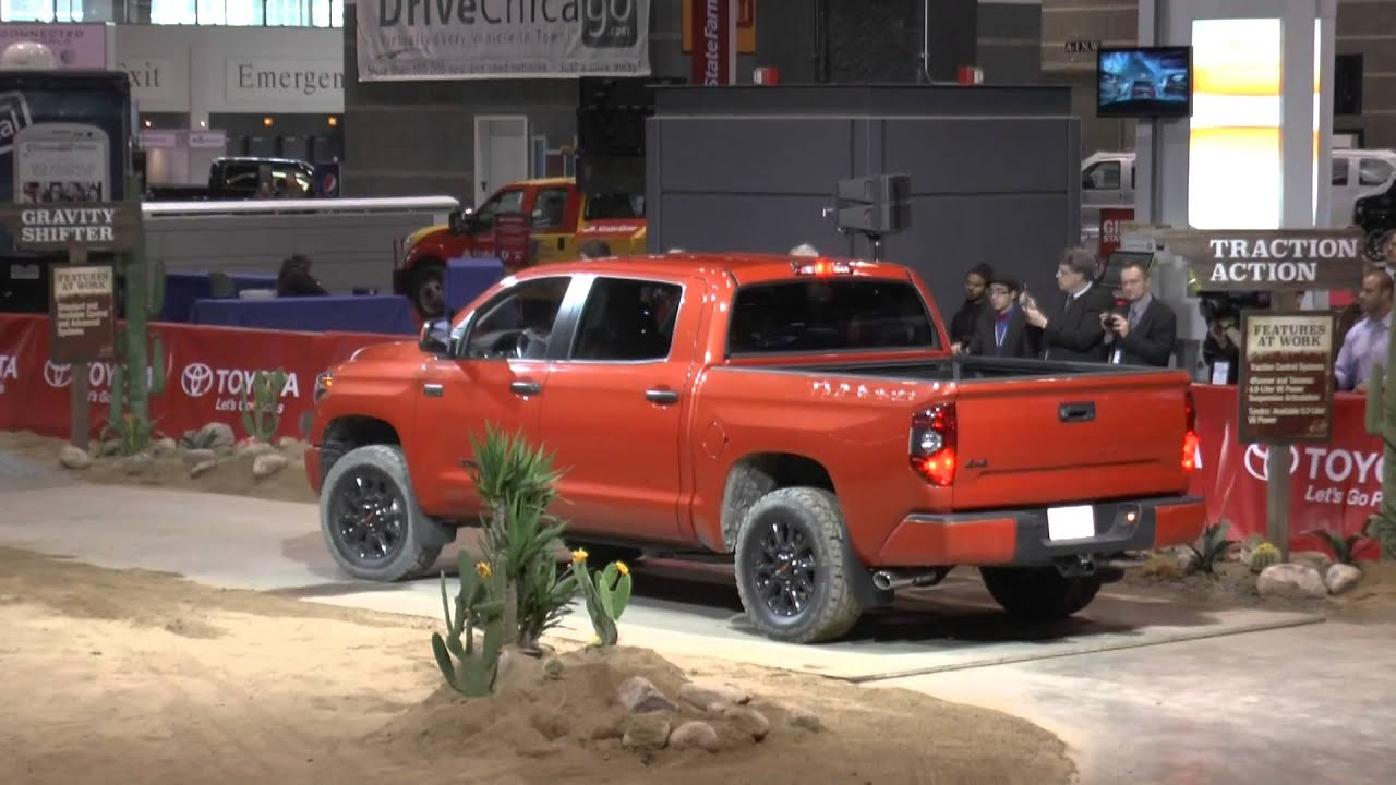 2015 toyota trd pro tacoma 4runner tundra 2014 chicago auto show youtube