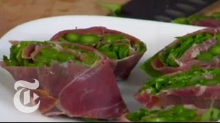 Asparagus & Prosciutto Roll-Up