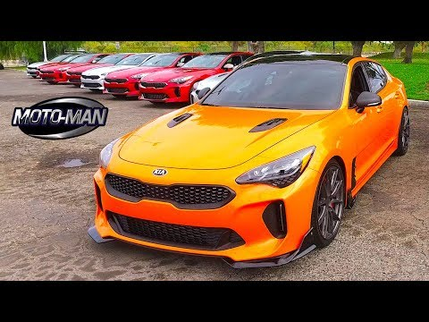 2018 kia stinger gt twin turbo v6 first drive review 2 of 2 youtube. Black Bedroom Furniture Sets. Home Design Ideas